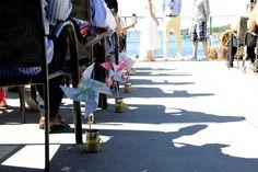 Pinwheel aisle runners