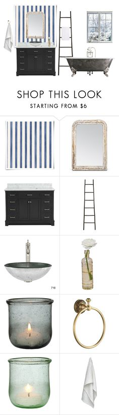 """""""Bathroom"""" by silkeaaberg ❤ liked on Polyvore featuring interior, interiors, interior design, home, home decor, interior decorating, Christian Lacroix, Made Goods, Cultural Intrigue and The Organic Company"""