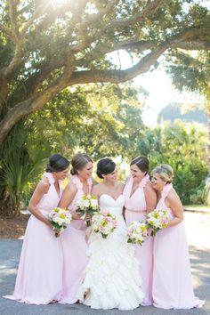 long pink dresses | Dana Cubbage #wedding