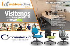 CORIMEXO - (a)² archivosactivos Bolivia - Visitenos en el nuevo pabellón 22 de Expocruz