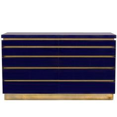 Lacquered Chest by Jean-Claude Mahey | From a unique collection of antique and modern commodes and chests of drawers at https://www.1stdibs.com/furniture/storage-case-pieces/commodes-chests-of-drawers/