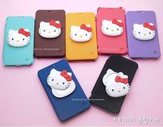 LG Optimus F7 Kitty Mirror Cute Korean Flip Cover