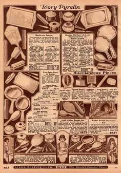 Vintage Sears Catalog Page by HA! Designs - Artbyheather, via Flickr