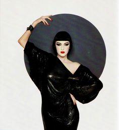 Susie Bick, Vogue, 1985.