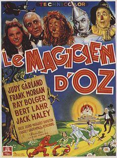 Affiches du film Le magicien d'Oz