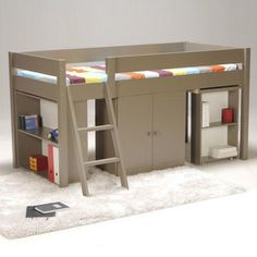 1000 images about lit rangement on pinterest lit mezzanine google and lof - Lit mezzanine rangement ...