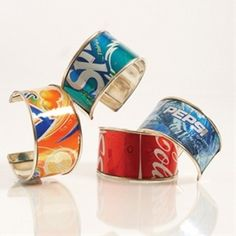 Fantastic camp crafts for girls (not just the soda bracelets here but a whole bunch more).