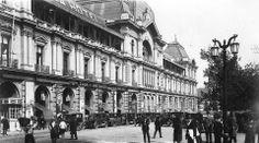 Portal Fernández Concha, Plaza de Armas de Santiago en 1928.