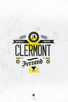 Clermont Brand with Beautiful Typography. Typography Images, Typography Letters, Graphic Design Typography, Branding Design, Logo Design, Stationery Design, Web Design, Creative Design, Design Layouts