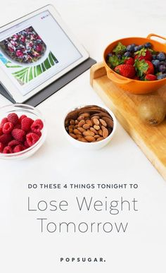 If slimming down and becoming healthier are two goals at the top of your priority list, here are four must dos to make part of your weeknight routine.