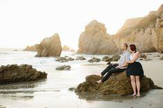 Malibu Engagement Photography: Abigail + Steve