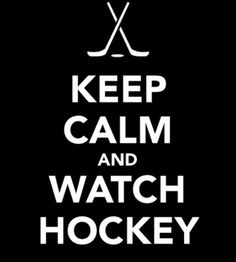 That so does not describe me while watching hockey!