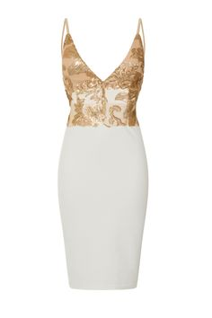 NAZZ COLLECTION STELLA WHITE SLINKY BUTTERFLY BUM BACKLESS MIDI PARTY EVENING SUMMER HOLIDAY WEDDING VIP LUXURY CLASSY GOLD SEQUIN EMBELLISHED FLORAL GOLDEN SPARKLE RAUNCHED BUM MIDI PENCIL WIGGLE DRESS Mini Dresses, Short Dresses, Formal Dresses, Sophisticated Dress, Wiggle Dress, Evening Party, Vip, Your Style, Backless