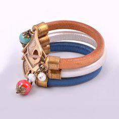 Bracelets, Leather, Jewelry, Fashion, Self, Moda, Jewlery, Jewerly, Fashion Styles