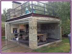 Pergola Ideas For Patio Info: 7835948717 Backyard Pavilion, Backyard Patio Designs, Pergola Patio, Backyard Landscaping, Pergola Kits, Rooftop Patio, Outdoor Kitchen Bars, Backyard Kitchen, Outdoor Kitchen Design