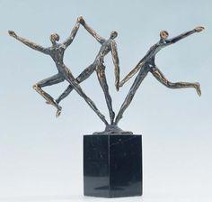 sculptuur: driedimensionaal beeld.