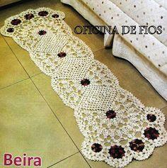Crochet Knitting Handicraft: crochet mat