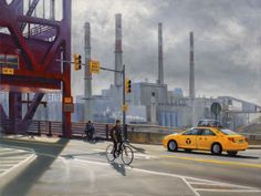 Realist oil NYC paintings and artist's new series with nature and botanicals Roosevelt, New Series, New York City, Nyc, Studio, Canvas, Nature, Artist, Painting