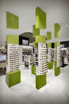 Mostaza Design | Fund Grube | Islas Canarias | Sunglasses furnitures | #retaildesign #mostazadesign #fundgrube #interiordesign #interiors #retail #furnituredesign #sunglasses