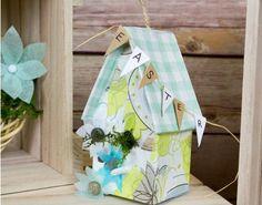 Easter Floral Birdhouse Craft Idea for Spring - Watercolour Spring - Adults Easter Craft Ideas - Adults Easter Crafts - Easter Quick Crafts, Crafts To Do, Arts And Crafts, Paper Crafts, Easter Crafts For Adults, Adult Crafts, Birdhouse Craft, Easter Gift, Summer Crafts
