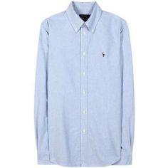 Polo Ralph Lauren - Harper cotton shirt #shirt #ralphlauren #covetme #poloralphlauren