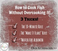 How to Cook Fish without Overcooking.... 3 TRICKS from Chef John! #tips