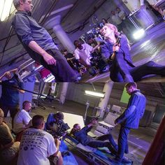 """Behind the scene """"Tris and Four's fight"""" , divergent"""