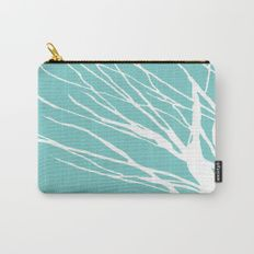 Cyan Blues Carry-All Pouch