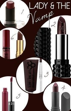 Fall lip colors. Vam