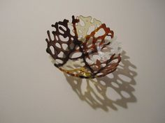 Hearth and Home Fused Glass Branch Bowl by JanuaryMayDesigns