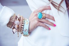 Love this! #Jewelry #Fashion #Blue