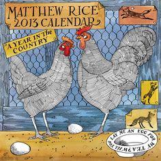 Matthew Rice 2013 Year in the Country Calenda
