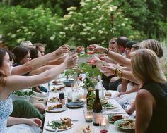 Dinner party Al fresco