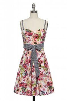 Graceful Garden Party Dress Lace Affair