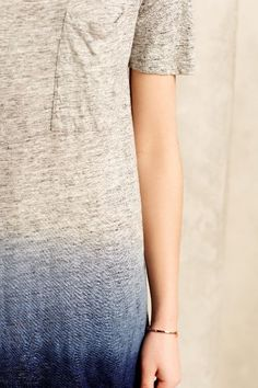 Dipped Iris Tunic - anthropologie.com #anthrofave