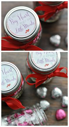 "Free Printable Gift Tag for teacher gifts. ""It Takes a Big Heart to Help Shape Little Minds"""