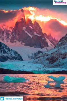 Patagonia is a region located at the southern end of South America, shared by Argentina and Chile.