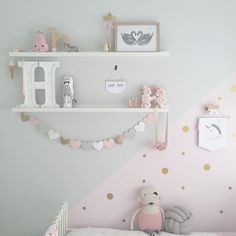 Tuesday's pretties Pastel bedroom Tuesday's pretties Pastel bedroom Baby Girl Room Decor, Baby Room Colors, Girl Decor, Baby Bedroom, Girls Bedroom, Bedroom Decor, Bedroom Ideas, Pastel Bedroom, Nursery Shelves