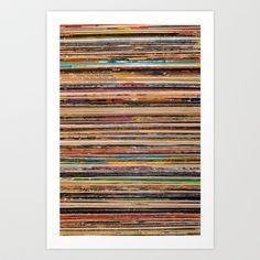 Vinyl Art Print by Elle Moss - $18.00