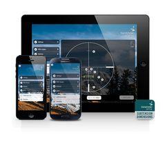 Peschkedesign — Daten visualisiert - Swarovski Optik Abdeckmasse App Interface Design, Communication Design, Ui Ux, App Development, Industrial Design, Swarovski, Product Design, Instructional Design, User Interface Design