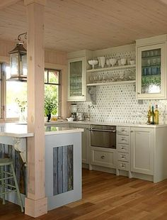 Such a small kitchen, but open!