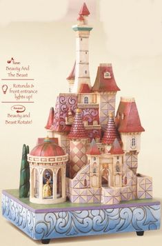 jim shore disney | Jim Shore Disney 4013250 Castle from The Collector's Addition
