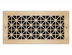 what we've learned: vent grilles/registers Laser Cut Wood, Laser Cutting, Wall Vent Covers, Eames Rocker, Types Of Wood, Ceiling, Hardware, Design, Face