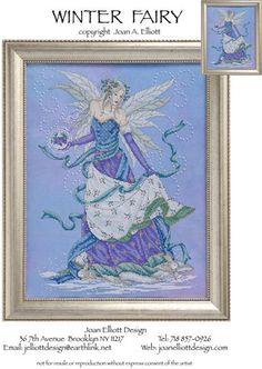 Winter Fairy - Cross Stitch Pattern - A Joan Elliot design