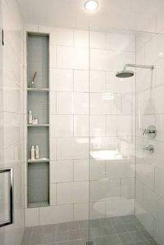 Image result for shower niche height