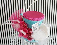 Baby Shower Mini Top Hat Baby Shower by LittleMissHattitude