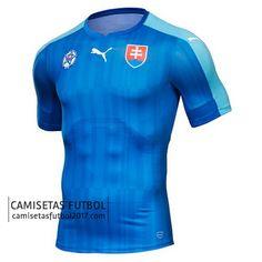 Segunda camiseta de Eslovaquia Euro 2016 €19,5