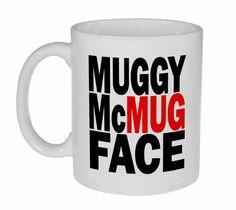Muggy McMugFace Coffee or Tea Mug