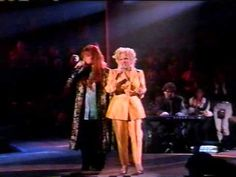The Rose - Bette Midler & Wynonna Judd  This song will forever give me chills to the bone.