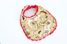 Pirates Map Bib by StellarCheri on Etsy, $12.00